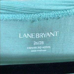 Lane Bryant Tops - Lane Bryant Aqua Long Tunic Plus Size 26/28